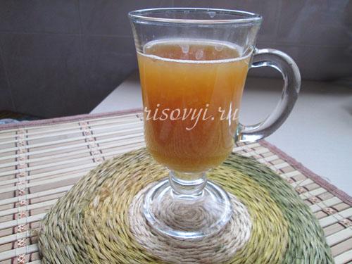 Рецепт чая с манго