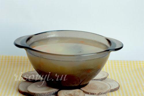 Как варить рисовый суп: рецепт