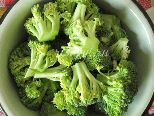 Приготовление брокколи в кляре