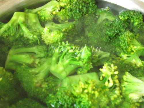 Как приготовить брокколи в кляре