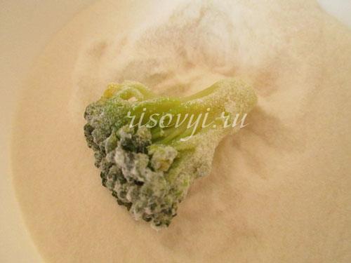 Рецепт брокколи в кляре