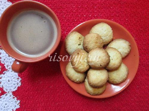 Рецепт кокосового печенья без глютена