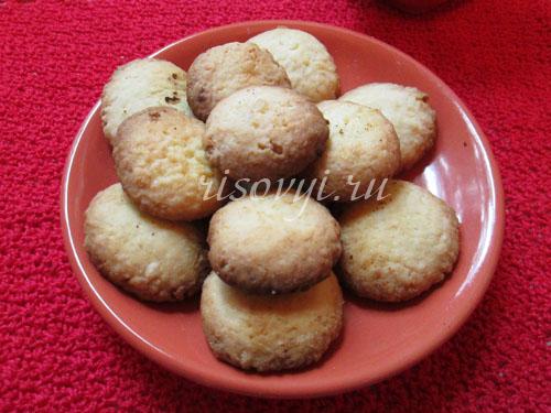Печенье с кокосовой стружкой безглютеновое