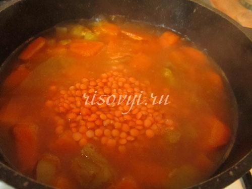 Диетический суп-пюре из тыквы