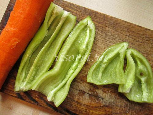 Овощи для тыквенного супа-пюре