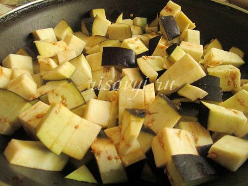 Вкусный суп с баклажанами