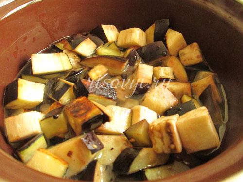 Суп с баклажанами вегетарианский