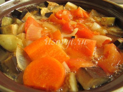 Суп из баклажанов с фото
