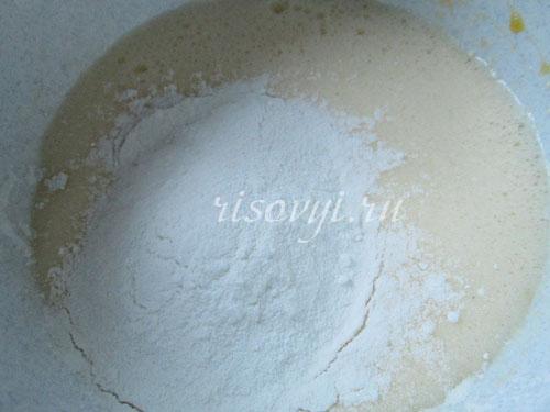 Приготовление безглютенового торта