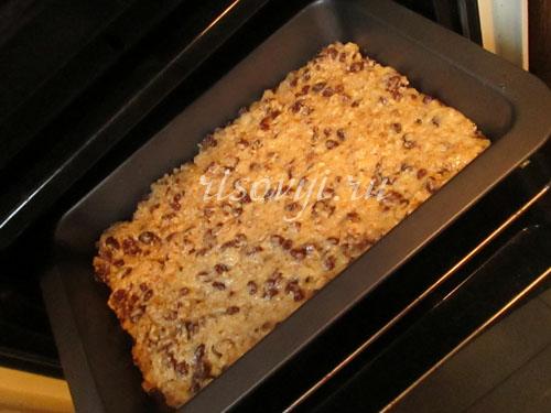 Ставим в духовку безглютеновый пирог