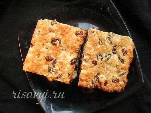 Рецепт безглютенового пирога Мазурик