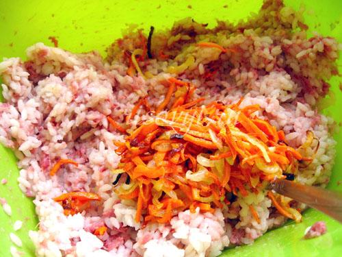 Как приготовить перец, фаршированный овощами с мясом