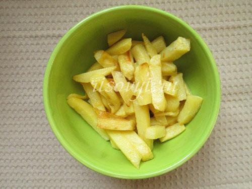 Рецепт картошки фри в домашних условиях