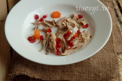 Приготовление куриного холодца с желатином