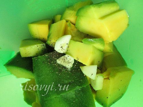 Соус из авокадо к мясу
