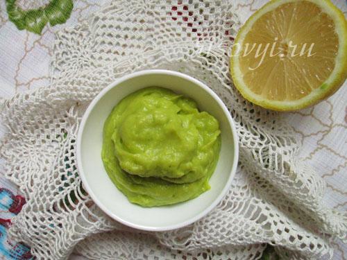 Соус из авокадо: рецепт