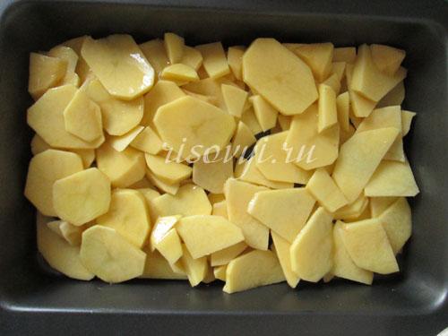 Вкусная запеченная картошка в духовке: рецепт с фото