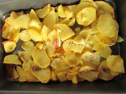 Самая вкусная картошка в духовке