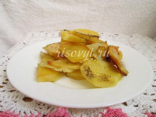 Очень вкусная картошка в духовке