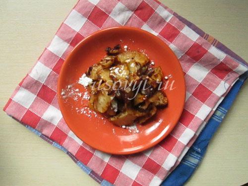 Запеченные яблоки с корицей: рецепт