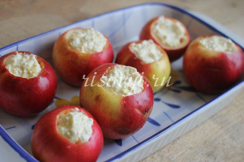 Печеные яблоки: рецепт