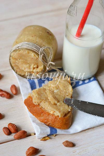 Арахисовая паста: рецепт