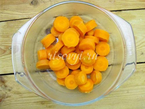 Делаем цукаты: морковь