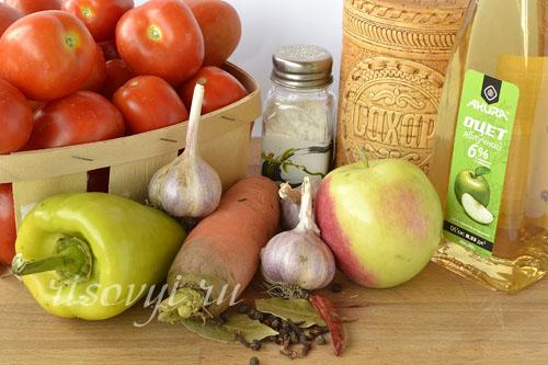 Консервация помидоров: рецепты