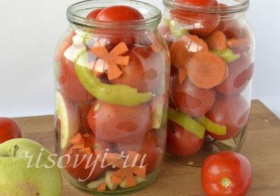 Консервация помидоров: рецепты с фото