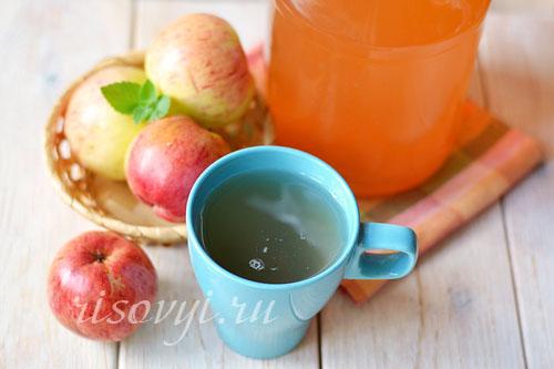Как приготовить яблочный сок на зиму