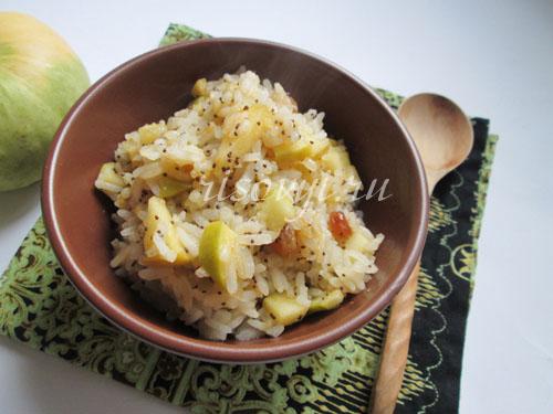 Рис с тыквой: рецепт