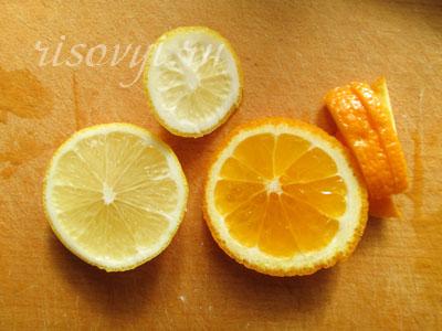 Рецепт чая с апельсином и лимоном
