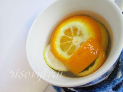 Рецепт чая с апельсином