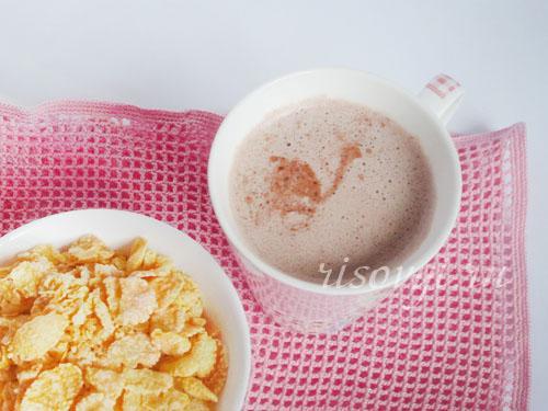 Рецепт с фото какао на молоке