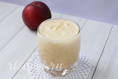 Персиковый напиток из сыворотки: рецепт