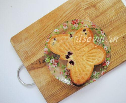Бисквитные кексы в формочках без глютена