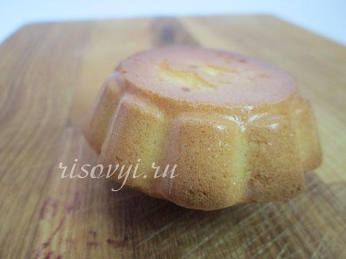 Бисквитные кексы: рецепт с фото
