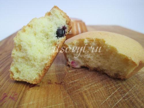 Рецепт бисквитного кекса без глютена