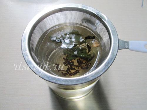 Клубничный чай: рецепт