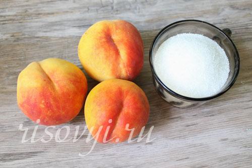 Как приготовить компот из персиков (сразу пить)