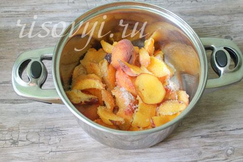Как приготовить компот из персиков (рецепт с фото)