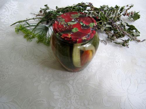 Рецепт маринованного овощного ассорти на зиму
