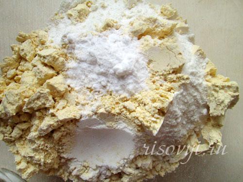 Песочное имбирное печенье: рецепт с фото