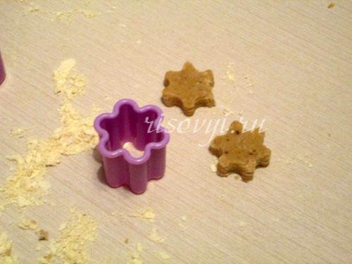 Имбирное рождественское печенье: рецепт с фото