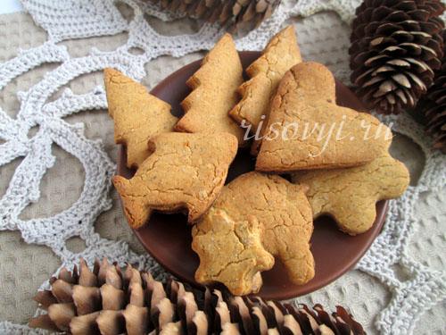 Имбирное печенье: рецепт с фото пошагово