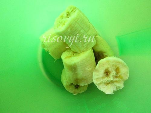 Банан - основа для печенья