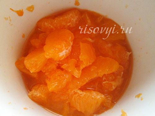 Мандариновое желе: рецепт с фото