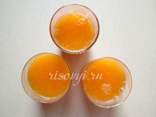 Желе из мандаринов: рецепт с фото