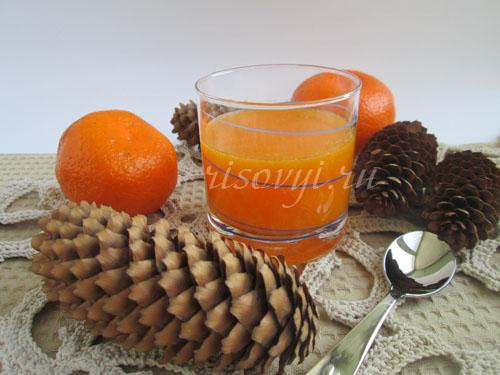 Желе из мандаринов: рецепт