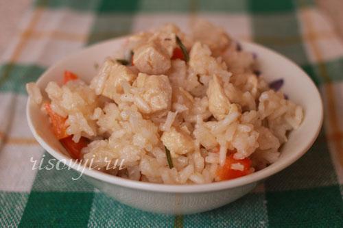 Плов с курицей в духовке: рецепт